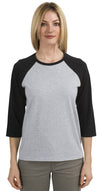Hanes Womens Relaxed Fit Jersey T-Shirt - 5.2 oz