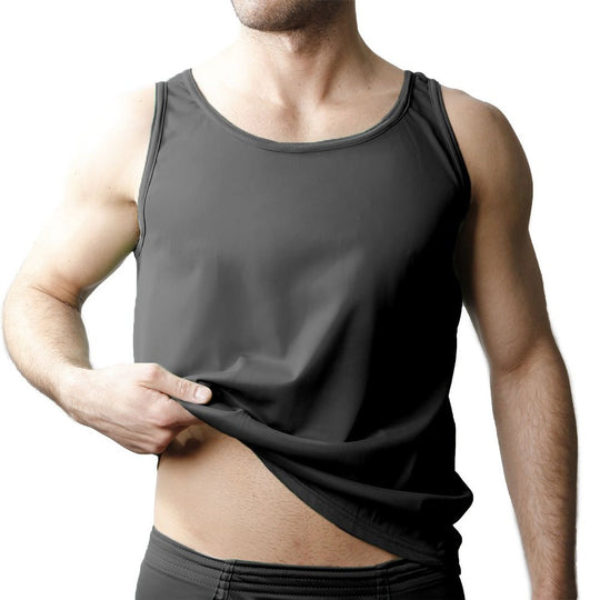 Players Mens Tricot Nylon Athletic Tank Shirt
