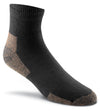Fox River Work Men`s Medium weight Quarter Crew Socks