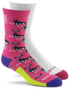 Fox River Scrubs Women`s Lightweight Crew Socks, FR-6894, Medium, Medium