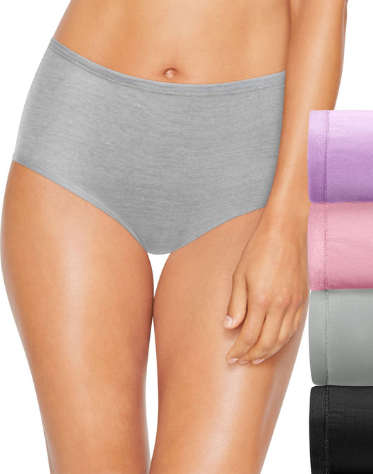 Hanes Womens Ultimate Comfortsoft Briefs 4-Pack