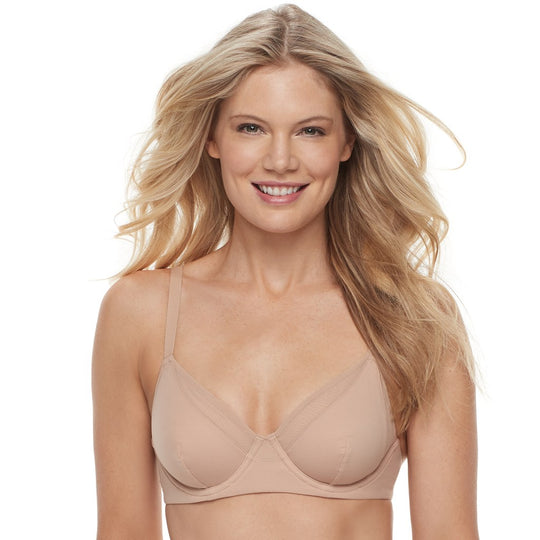 Vanity Fair Womens Breathable Luxe Full Coverage Unlined Underwire Bra