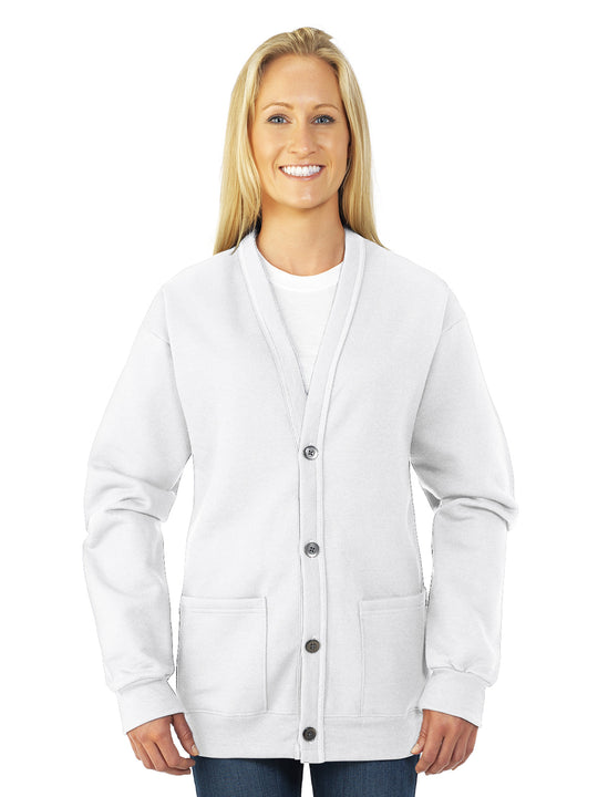 Jerzees Womens NuBlend Cardigan