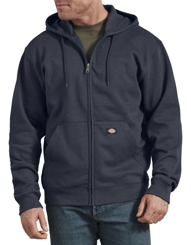 Dickies Mens Fleece Full Zip Hoodie