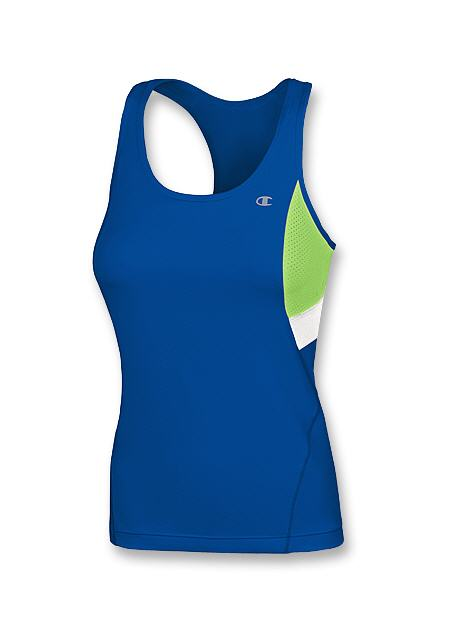Champion Double Dry Long Sports Top with Built-in Sports Bra