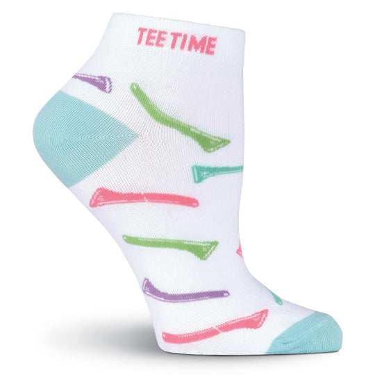K. Bell Womens Tee Time No Show Socks