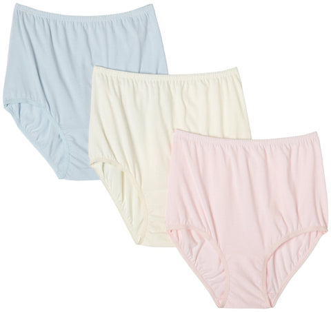 Vanity Fair Perfectly Yours Women`s Classic Cotton Brief Panty