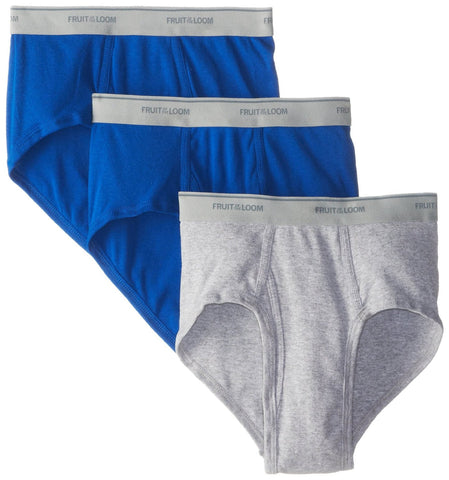 Fruit of the Loom Men`s 3-Pack Assorted Fashion Brief