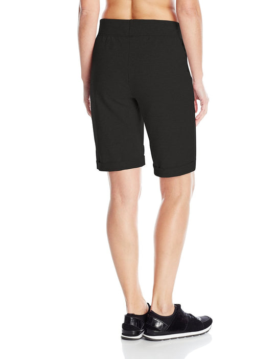 Hanes Women`s French Terry Bermuda Pocket Short