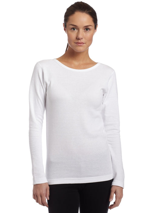 Duofold Thermals Mid-Weight Womens Long Sleeve Crew