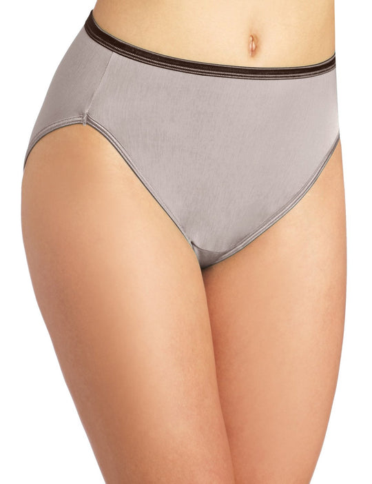 Vanity Fair Body Shine Illumination Women`s Hi Cut Panty