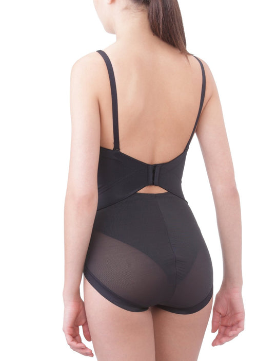 Flexees Women`s Easy-Up Strapless Body Briefer