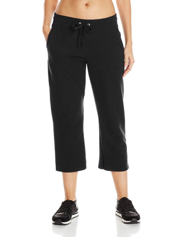 Hanes Women`s French Terry Pocket Capri