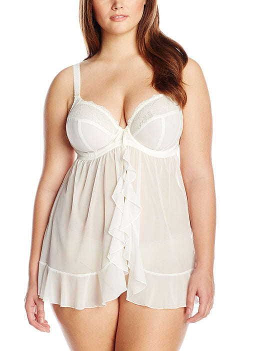 Elomi Womens Maria Underwired Babydoll
