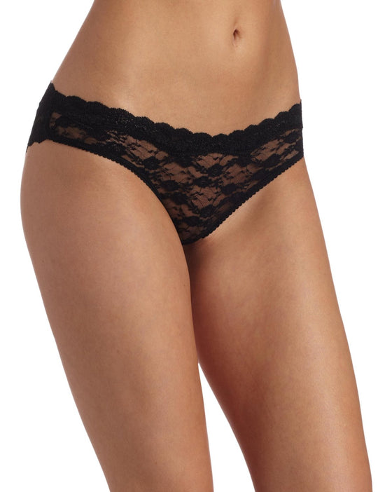 Barely There Women's Go Girlie Foxx All Over Lace Tanga