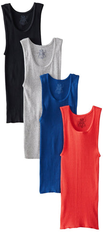 Fruit of the Loom Boys` 4pk Assorted A-shirts