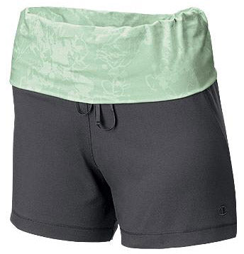 Champion Body Balance Rolldown-Waist Womens Shorts