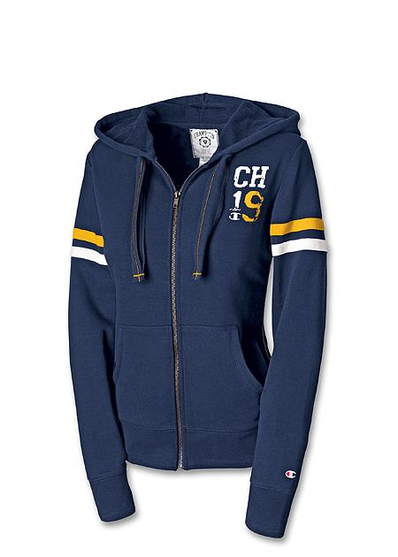Champion Team Champion Womens Full-Zip Campus Hoodie