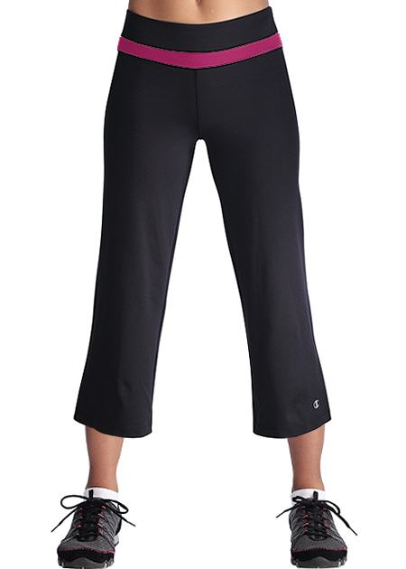 "Champion Double Dry SEMI-FITTED 23"" Women's Absolute Workout Capris"