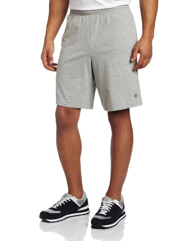 Champion Men's  9-Inch Jersey Short With Pockets