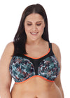 Elomi Womens Energise Underwire Sports Bra with J Hook
