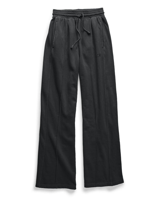 Champion Life Womens Vintage Dyed Fleece Wide Leg Pant