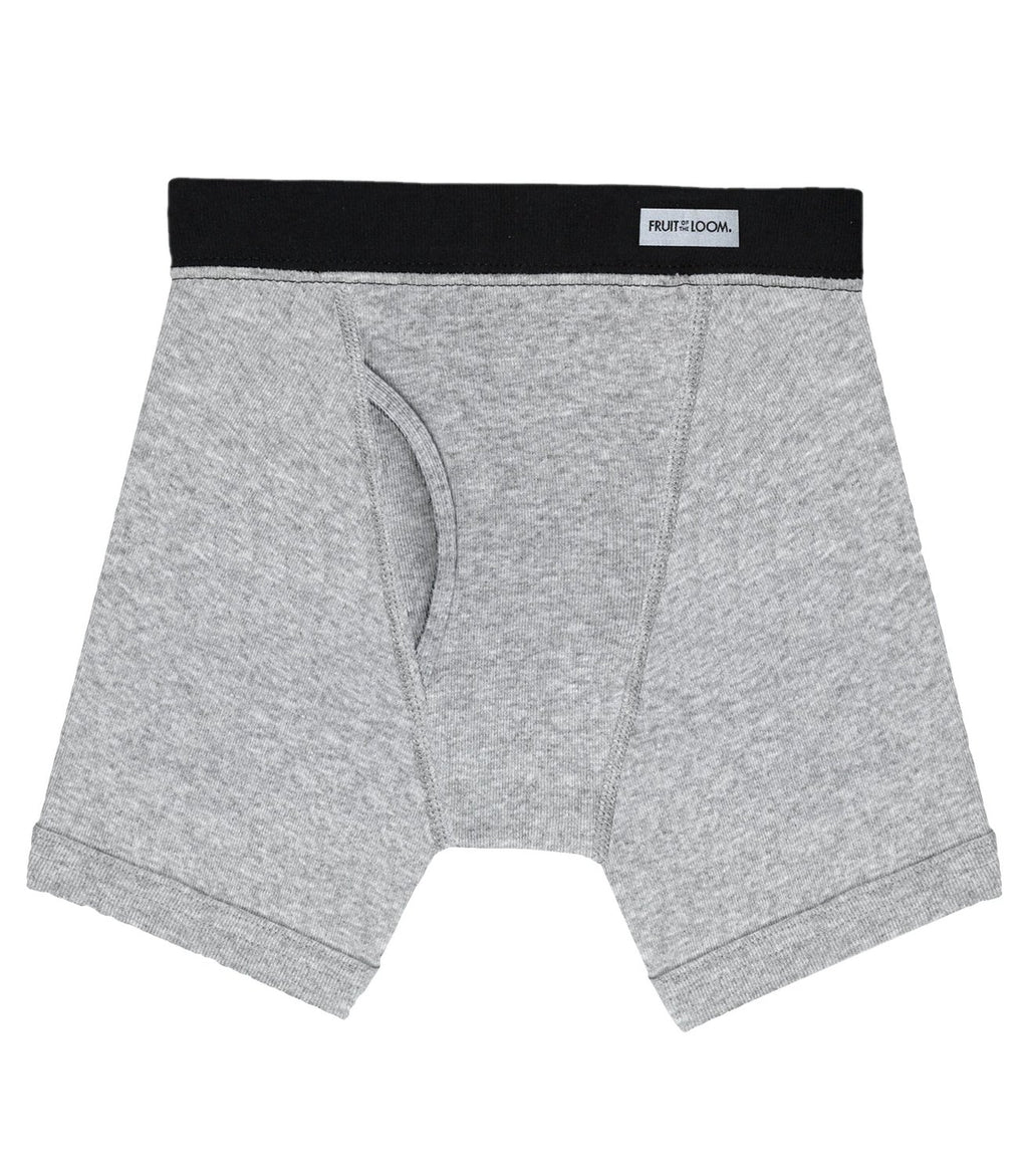 Fruit of the Loom Boys` 5pk Covered Waistband Boxer Brief