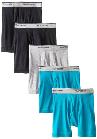 Fruit of the Loom Toddler Boys` 5pk Assorted Boxer Brief