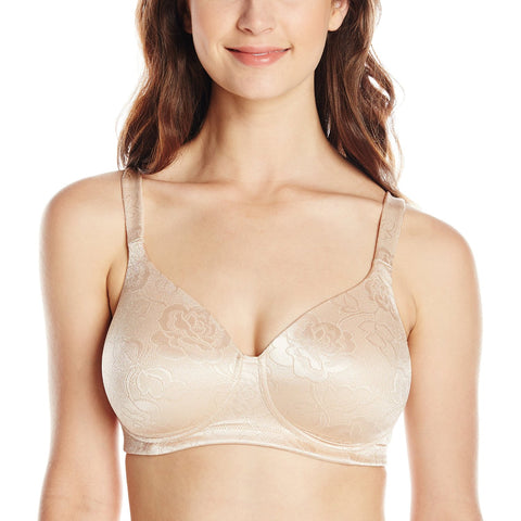 Vanity Fair Body Shine Women`s Full Coverage Wirefree Bra