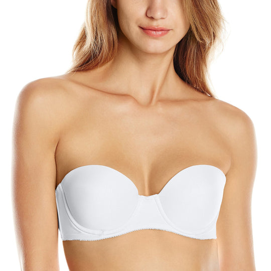 Lily of France Value In Style Women`s Strapless Push Up Convertible Bra