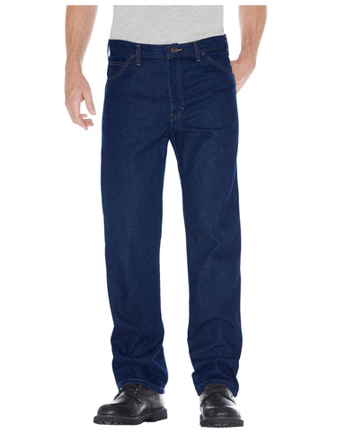 Dickies Mens Regular Straight Fit 5-Pocket Denim Jeans