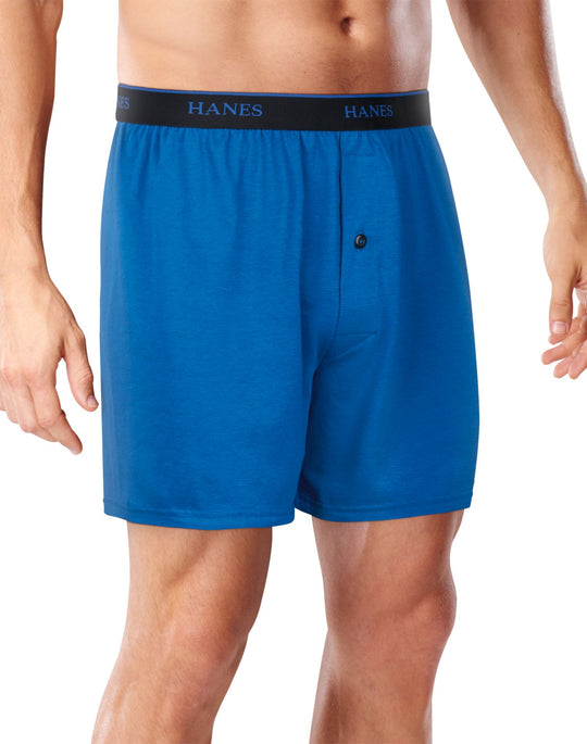 Hanes Mens FreshIQ Cool Comfort Breathable Mesh Boxer Briefs 4-Pack