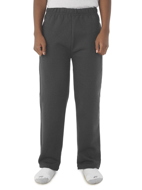 Jerzees Youth NuBlend Pocketed Open-Bottom Sweatpants
