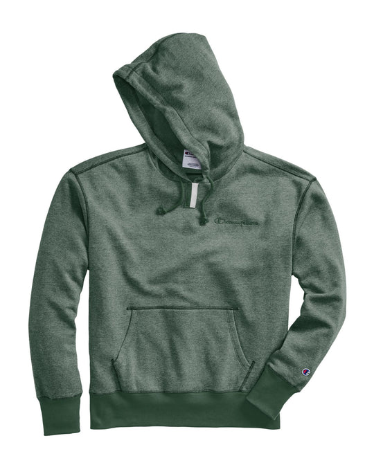 Champion Mens Heritage Heather YC Hoodie