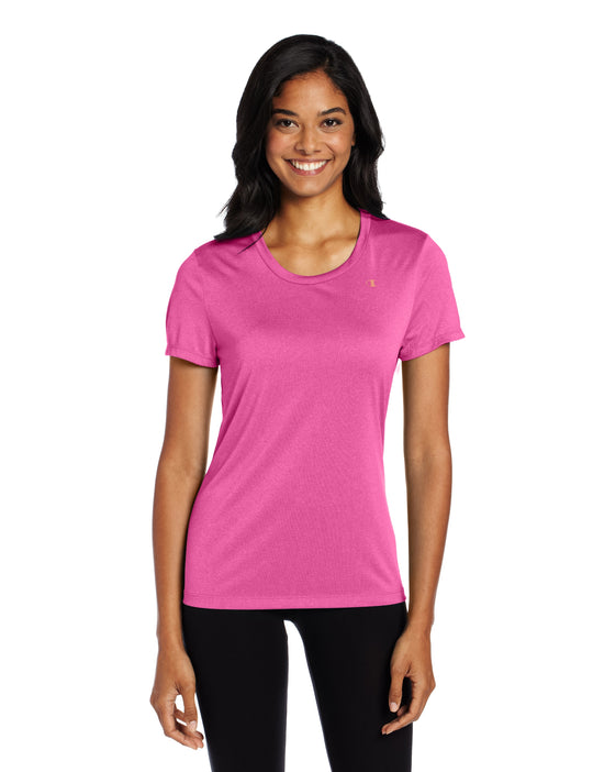 Champion Vapor PowerTrain Short Sleeve Heather Women's Tee