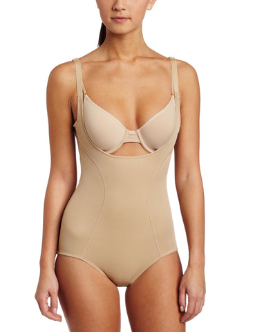Flexees Ultimate Slimmer Wear Your Own Bra (WYOB) Torsette Body Briefer