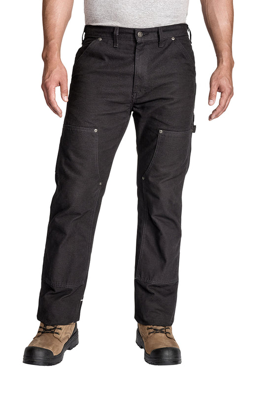 Dickies Mens Relaxed Fit Straight Leg Double Front Duck Work Pants