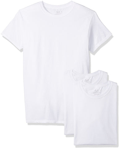 Fruit of the Loom Mens 3-Pack Breathable Cooling Cotton Crew Undershirts