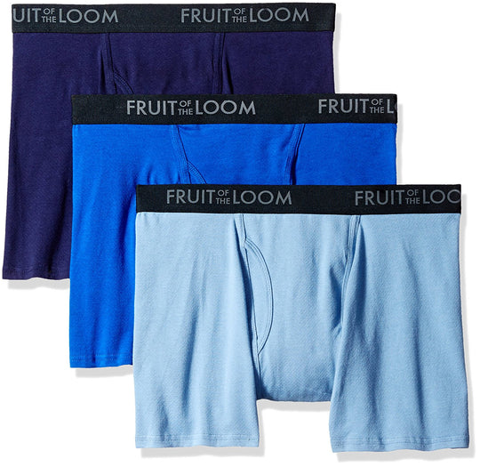 Fruit of the Loom Mens Breathable 3-Pack Boxer Brief