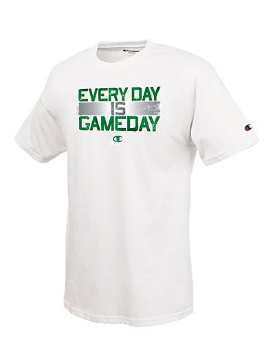 Champion 100% Cotton Men's T Shirt with 'Every Day Is Gameday' Graphic