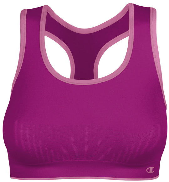 Champion Double Dry Seamless Reversible Sports Bra