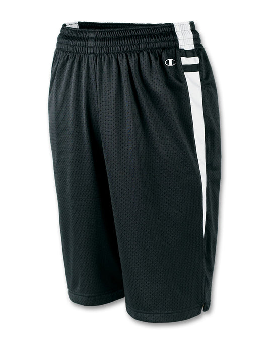 Champion Men's Mesh Lacrosse Shorts with Dazzle Trim