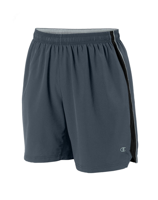 Champion Double Dry+ Intensity Woven Men's Athletic Shorts with Boxer Brief Liner