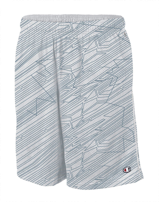 Champion Authentic Printed Men's Mesh Shorts With Pockets