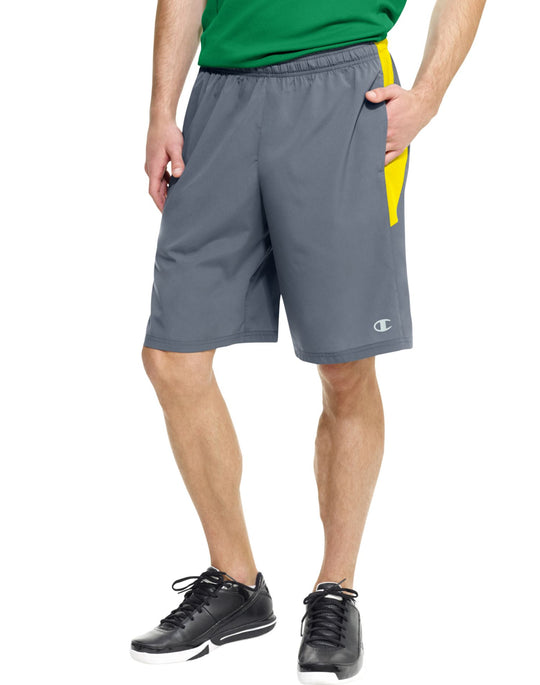 Champion Men`s PowerTrain Woven Shorts