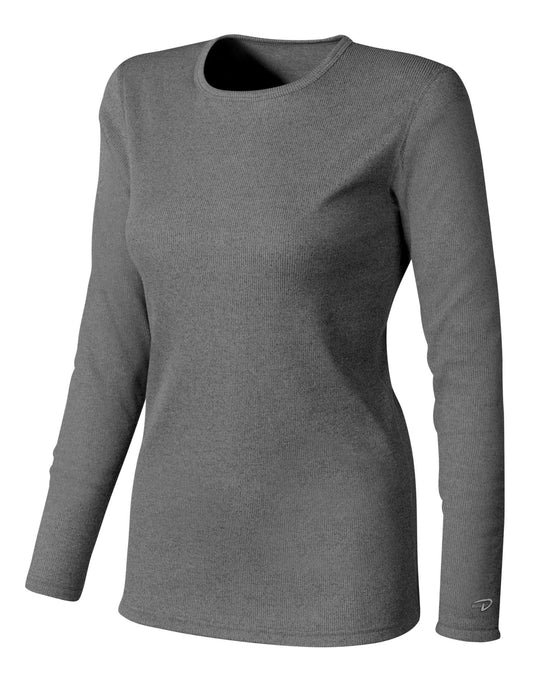 Duofold Varitherm Women's Brushed Back Rib Crew