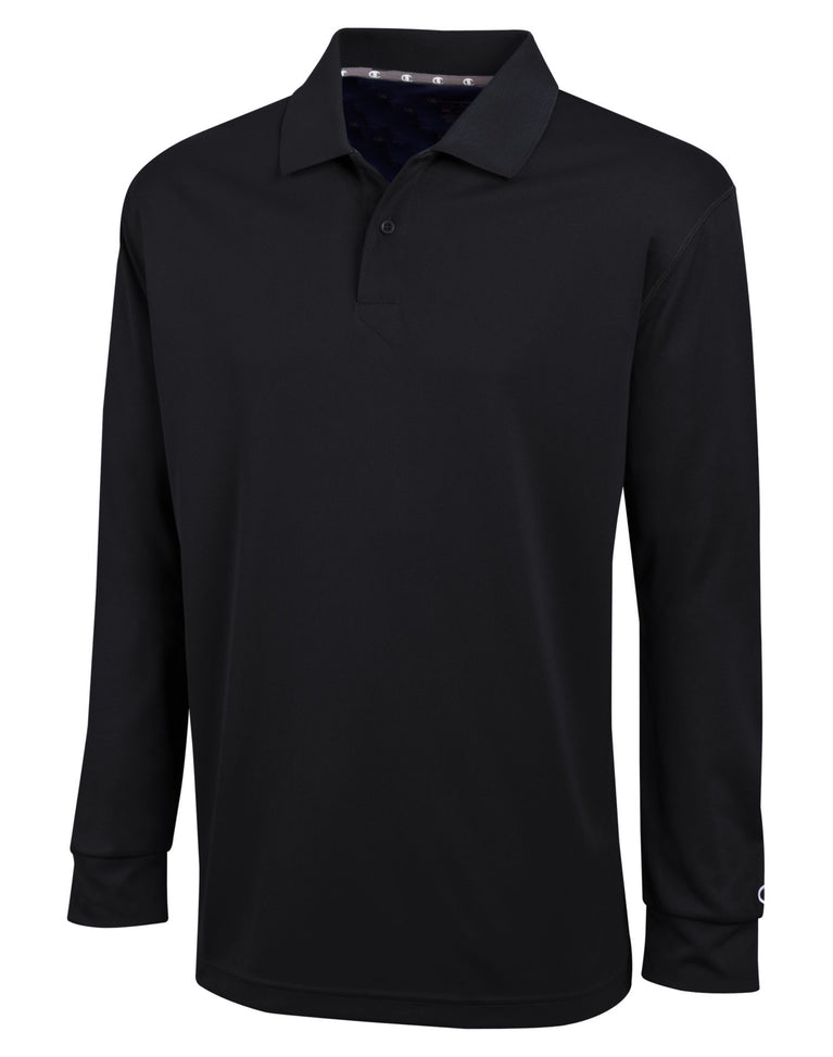 9a8744b1d H143 - Champion Men's Ultimate Double Dry Long Sleeve Polo – NY Lingerie