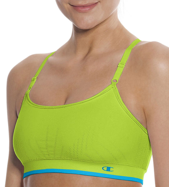 Champion Double Dry Seamless Cami Sports Bra