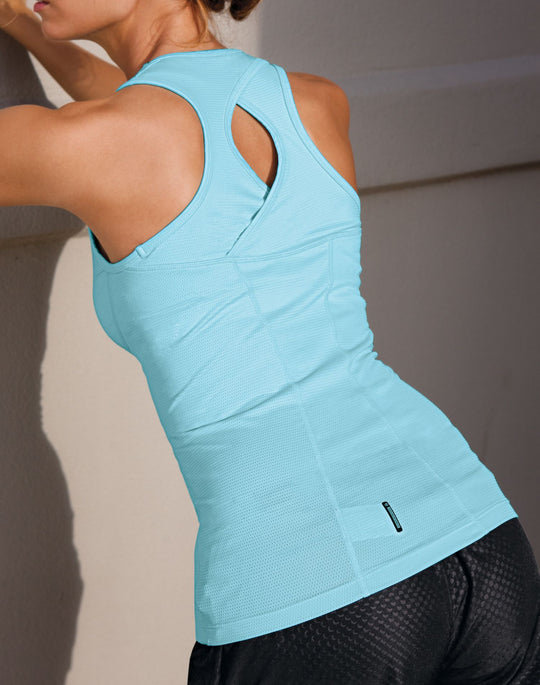Champion Double Dry Quick-Drying Women's Long Top with Built-In Bra