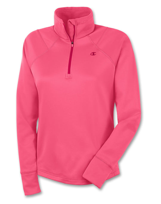 Champion Performance Tech Fleece Quarter-Zip Women's Pullover